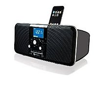 Boston Acoustics - hduoipb - Boston Acoustics Hduoipb Docking Station For Ipod Iphone Am/fm Stereo Radio With Clock - Black - hduoipb